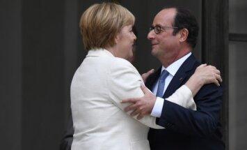 A. Merkel ir F. Hollande'as sieks naujo plano ES
