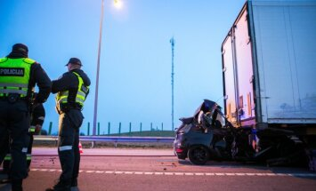 Tragiška avarija greitkelyje