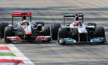 Lewisas Hamiltonas ir Michaelis Schumacheris