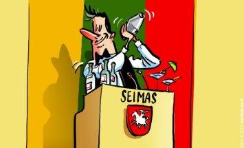 Alcohol in the Seimas