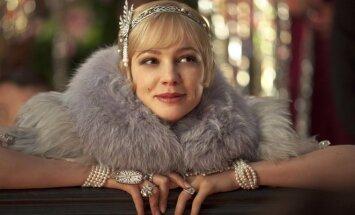 Aktorė Carey Mulligan, kadras iš filmo Didysis Getsbis
