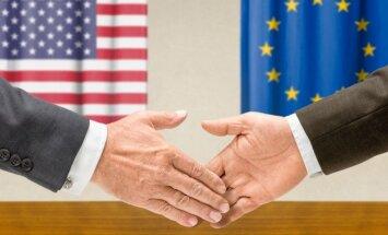 ES ir Jungtinių Valstijų laisvosios prekybos sutartis