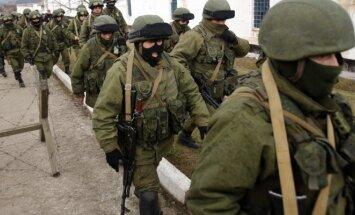 Rusijos kariai be skiriamųjų ženklų Kryme