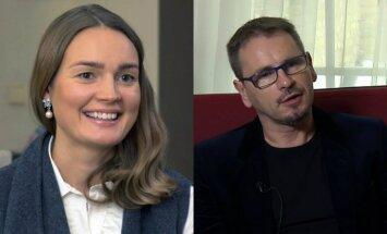 Jurgita Jurkutė ir Marijonas Mikutavičius
