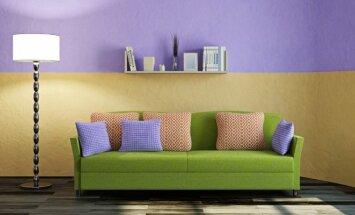 5 didžiausios klaidos perkant sofą