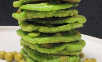 Žalieji blyneliai su nutrūkusiais karoliais