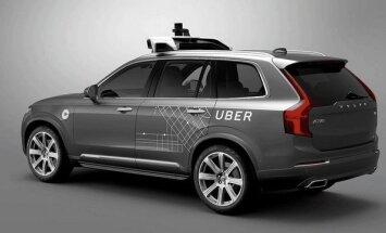 Uber testuojamas autonomiškas Volvo XC90 automobilis