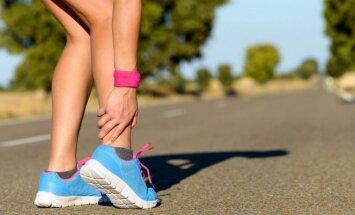 Bėgikus dažnai vargina mėšlungis