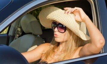Ką daryti, kad saulėje įkaitusiame automobilyje nekiltų pavojus sveikatai