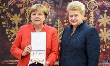 Angela Merkel, Dalia Grybauskaitė
