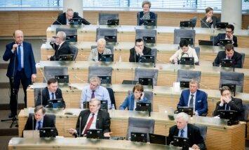 Conservative political group in the Seimas