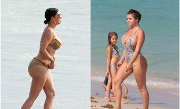 Kim Kardashian ir Anastasija Kvitko