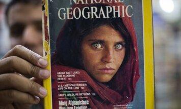 Sharbat Gulla - afganų mergaitė