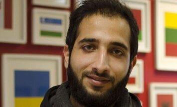 Studentas iš Sirijos Ehabas Aibadenas