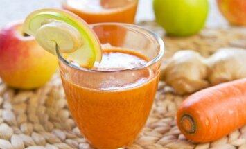 Obuolių ir morkų sultys