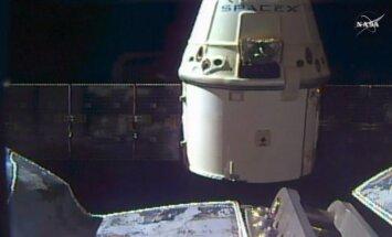 SpaceX nepilotuojama krovinių kapsulė Dragon