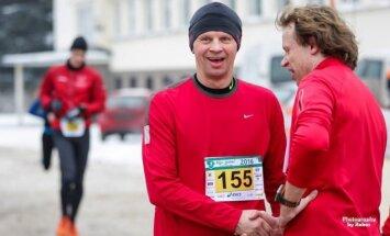 Kėdainių bėgimo akimirkos: Rolandas Kazlas (R. Lukoševičiaus nuotr.)
