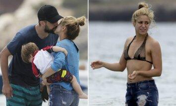 Shakira Ibisoje poilsiavo kartu su šeima