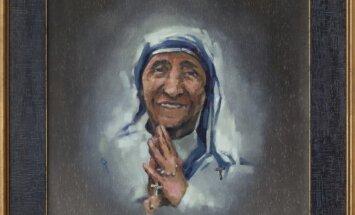 A. Zakarauskas. Šv. Motinos Teresės portretas