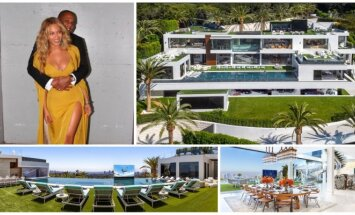 Beyonce ir Jay-Z namas Kalifornijoje