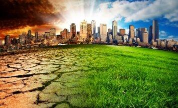 Aplinkos ministerija nusiteikusi stabdyti klimato atšilimą