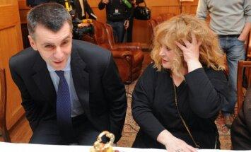 Michailas Prochorovas ir Ala Pugačiova