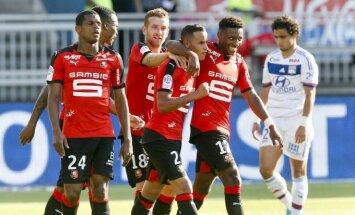 """""""Rennes"""" futbolininkai"""