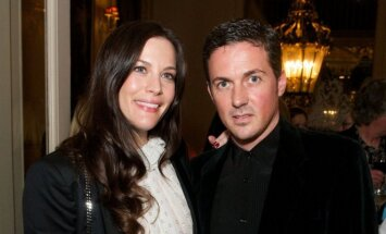 Liv Tyler ir Dave Gardner