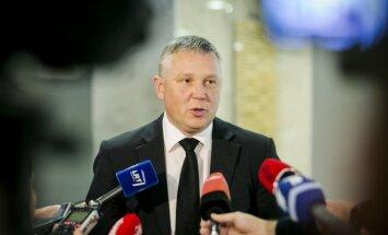 Ričardas Pocius, head of Lithuania's internal security services