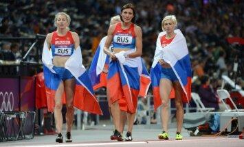 Rusijos bėgimo 4x400 m estefetės komanda Londono olimpiadoje
