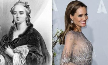 Jekaterina Didžioji (Jekaterina II) ir Angelina Jolie