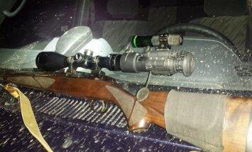 Konfiskuotas šautuvas