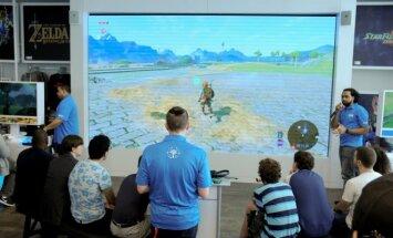 The Legend of Zelda: Breath of the Wild žaidimo pristatymas