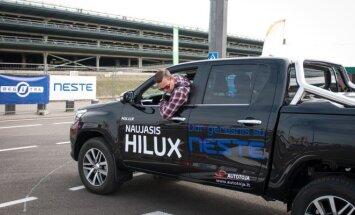 Geriausio vairuotojo konkursas 2016