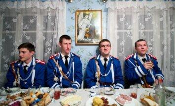 Mėlynųjų komanda susėdo vėlyvos vakarienės