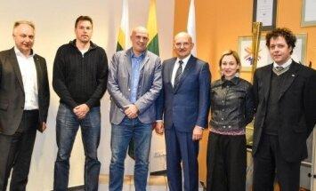 Organizacijos Badminton Europe nariai lankėsi LTOK