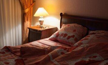5 patarimai mažiems miegamiesiems