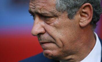 Portugalijos rinktinės vyr. treneris Fernando Santosas
