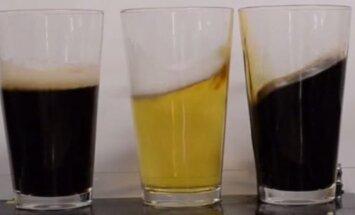 Kavos ir alaus laistymo eksperimentas