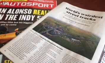 Žurnalas Autosport rašo apie lenktynes Palangoje