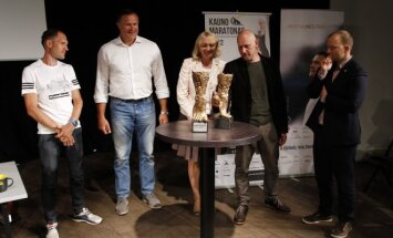 Kauno maratono spaudos konferencija
