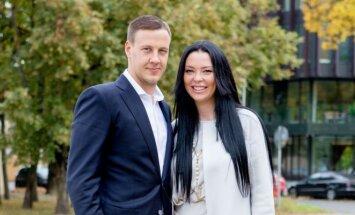 Saulius Klevinskas ir Simona Stunžėnaitė