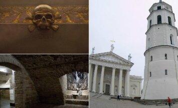 Vilniaus katedros požemiai