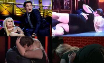 Rebel Wilson ir Adamas Devine'as