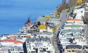 Kvynstaunas, Naujoji Zelandija