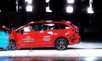 Subaru Levorg gavo maksimalų Euro NCAP įvertinimą