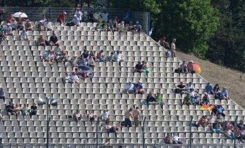 """""""Formulės-1"""" žiūrovai Vokietijoje"""