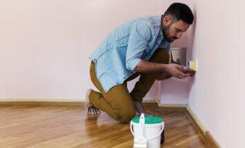 8 praktiški patarimai, kaip paruošti sienas dažymui