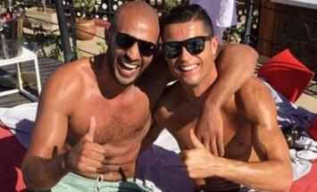 Badr Hari ir Cristiano Ronaldo