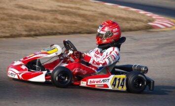Jaunieji Columbia Racing by WTR komandos lenktynininkai